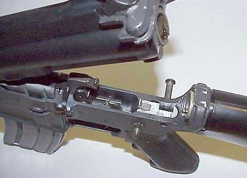 Drop In Auto Sear (DIAS) in AR-15 lower
